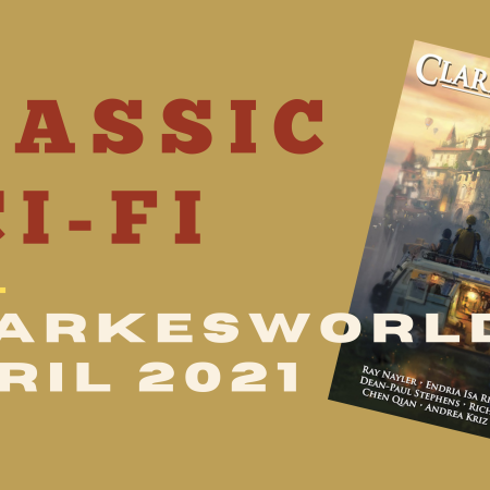 This image simply repeats the title of the article, with an image of this issue of Clarkesworld.